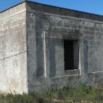 gammalt hus till salu i reserv tornet Guaceto i Puglia