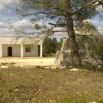 villa with trullo and beautiful garden for sale in carovigno